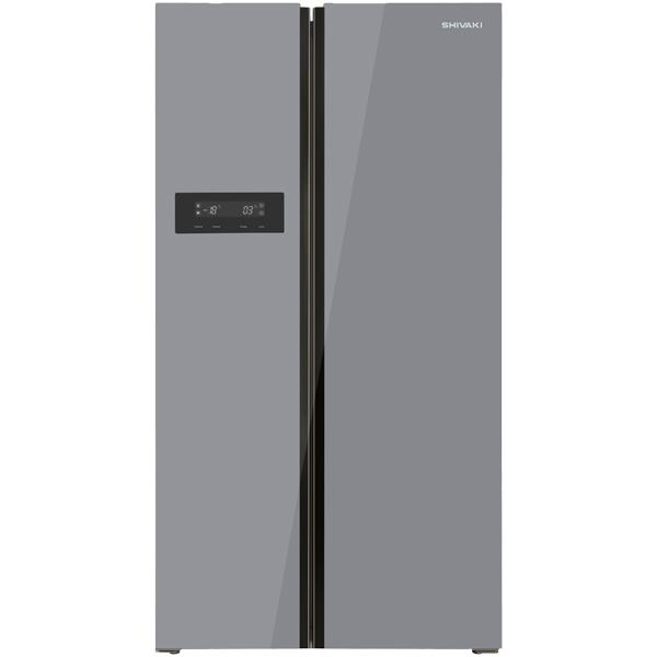 Холодильник Shivaki SBS 570DNFGS Silver