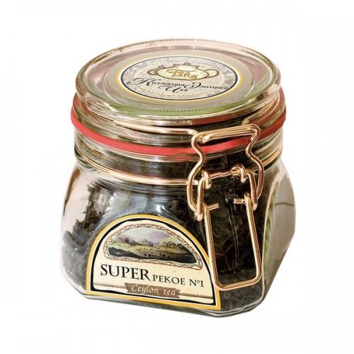 Чай весовой зеленый Ти Тэнг super pekoe в стекле 100 г