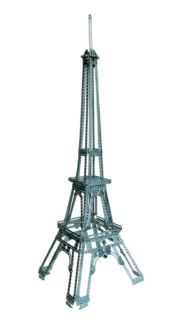 Купить Конструктор металлический Десятое королевство Эйфелева башня 977 эл. Р27118, Десятое Королевство, Металлические конструкторы