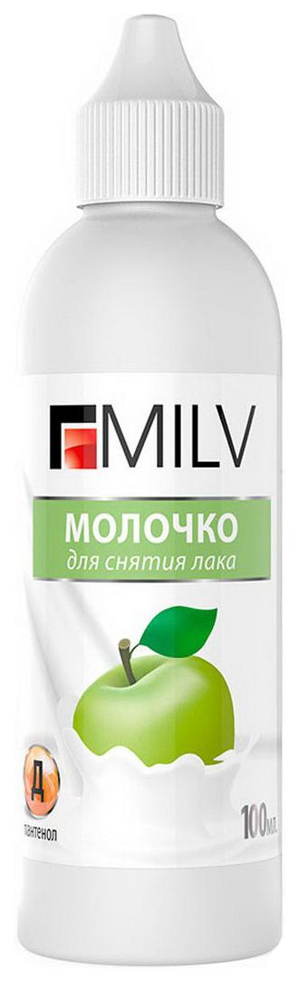 Жидкость для снятия лака Milv Яблоко 100 мл