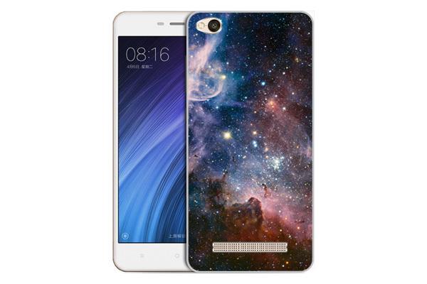Чехол Gosso Cases для Xiaomi Redmi 4A с принтом «Космос»