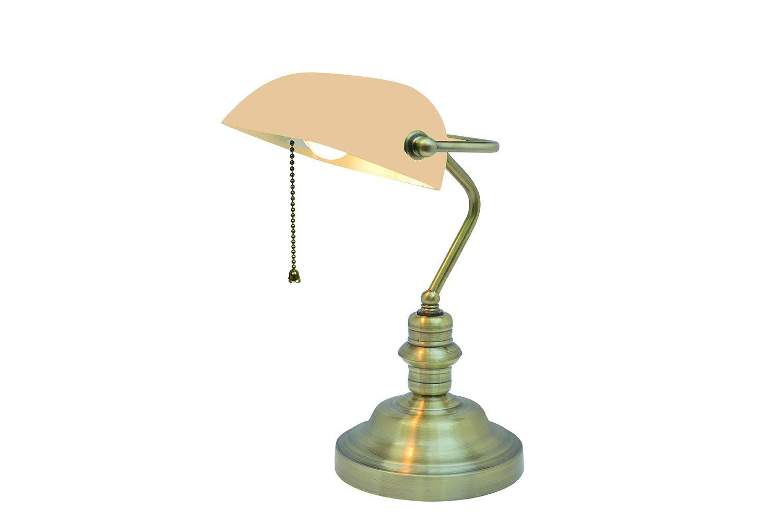 Настольная лампа Arte Lamp Banker A2493LT 1AB