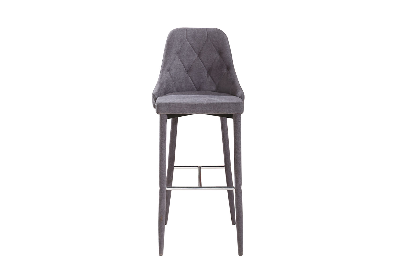 Полубарный стул Hoff Gain, серый