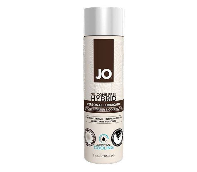 Купить Гель-смазка JO Hybrid Lubricant CoolING на водно-масляной основе 120 мл, System JO