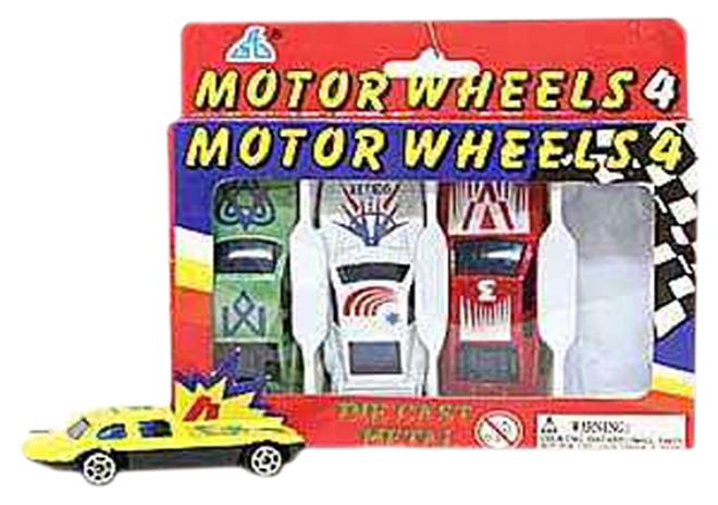 Купить Набор металлических машинок Motor Wheels 4, NoBrand, Наборы игрушечного транспорта