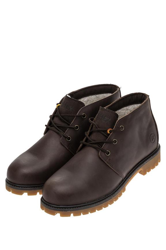 Ботинки мужские коричневые AFFEX 127-TBT-CHT-M