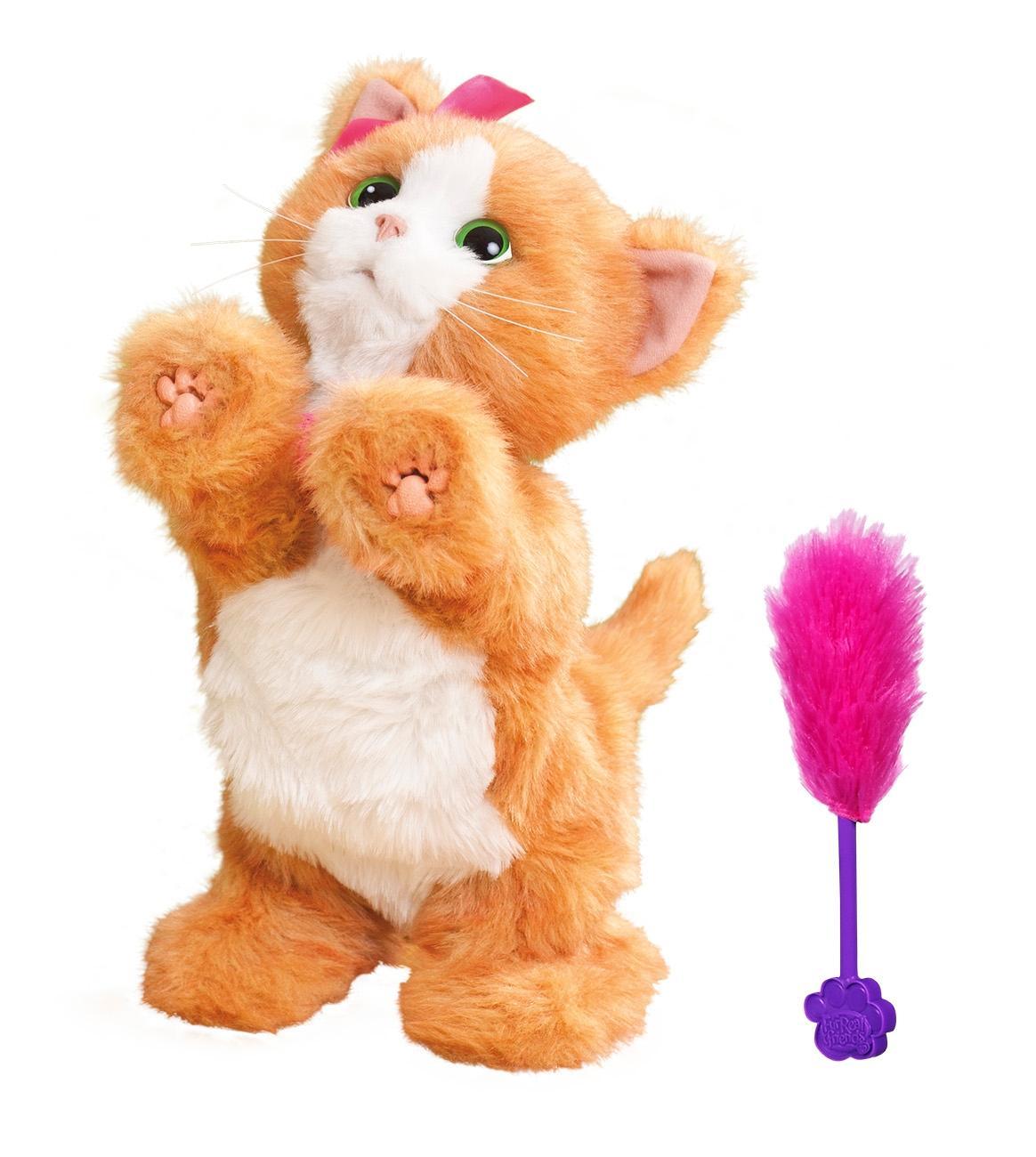 Купить Интерактивное животное Furreal Friends Дэйзи, игривый котенок a2003, Интерактивные мягкие игрушки