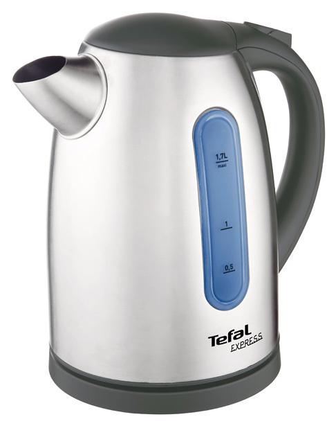 Чайник электрический Tefal Express II KI170D30 Silver/Black