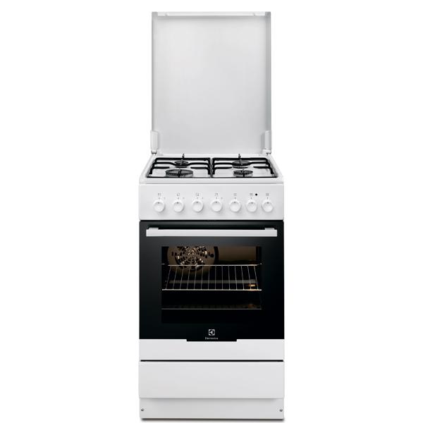 Газовая плита Electrolux EKK951301W White