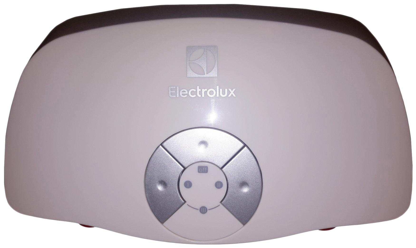 Водонагреватель проточный Electrolux 2.0 T Smartfix 2.0 (кран) white фото