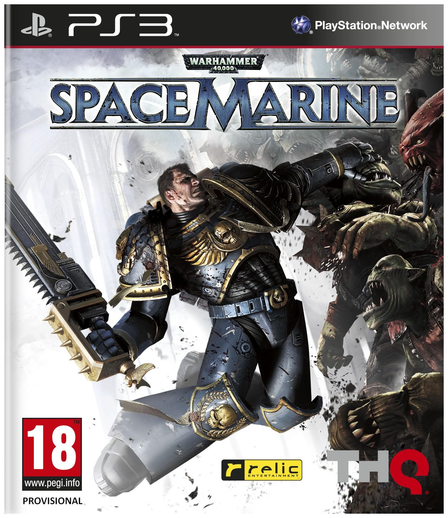 Игра Warhammer 40 000:Space Marine для PlayStation 3 фото