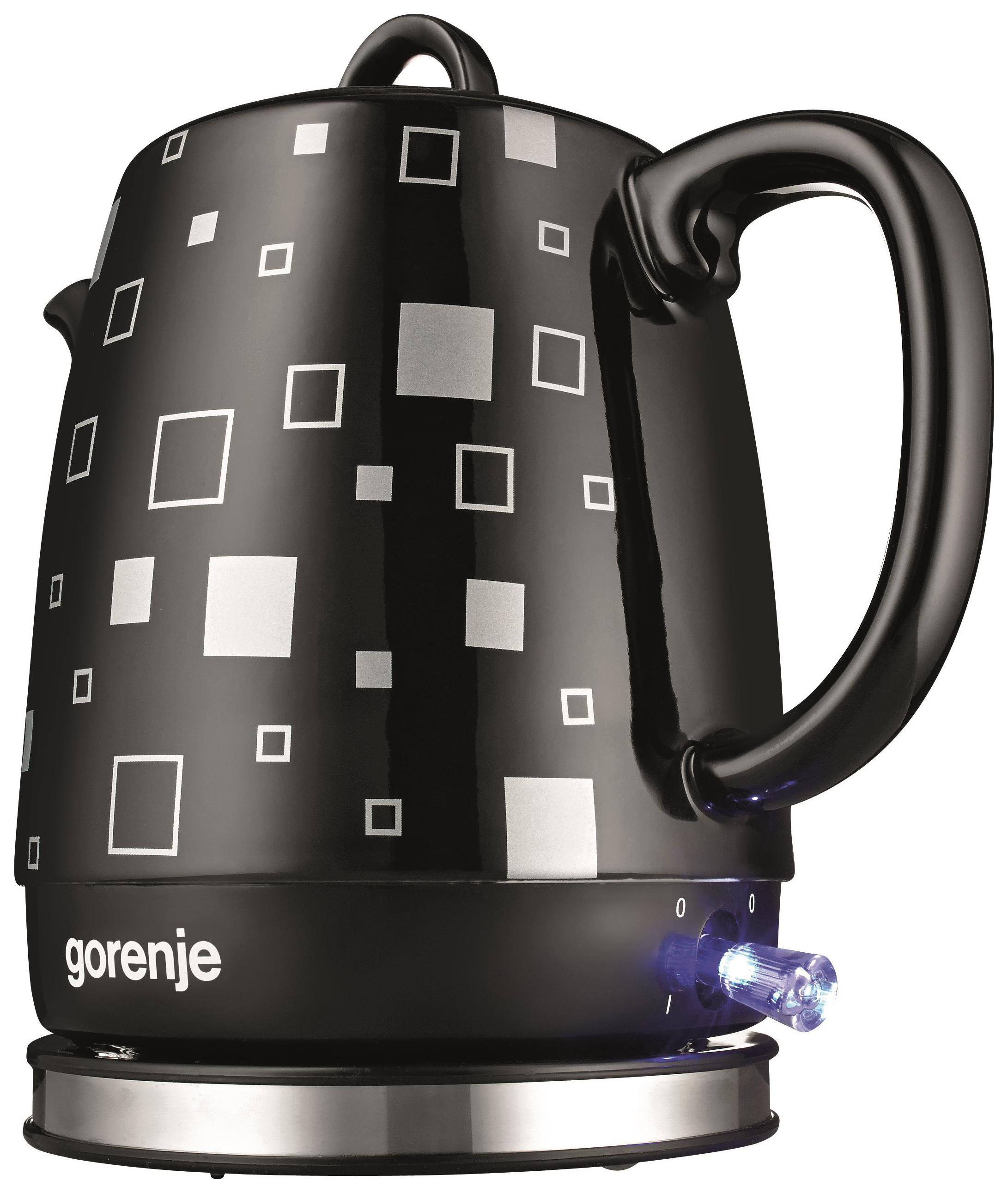 Чайник электрический Gorenje K10BKC Black