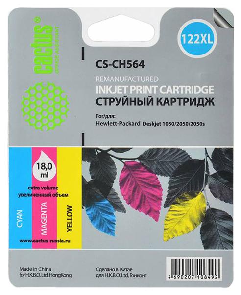 Картридж для струйного принтера Cactus CS-CH564