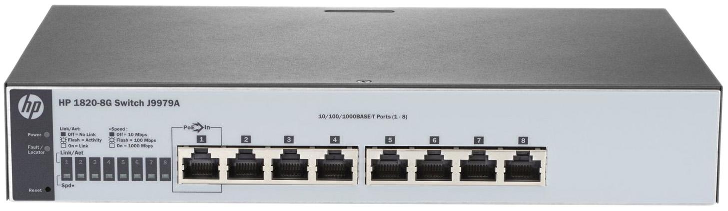 Коммутатор HP OfficeConnect 1820 1820 8G J9979A