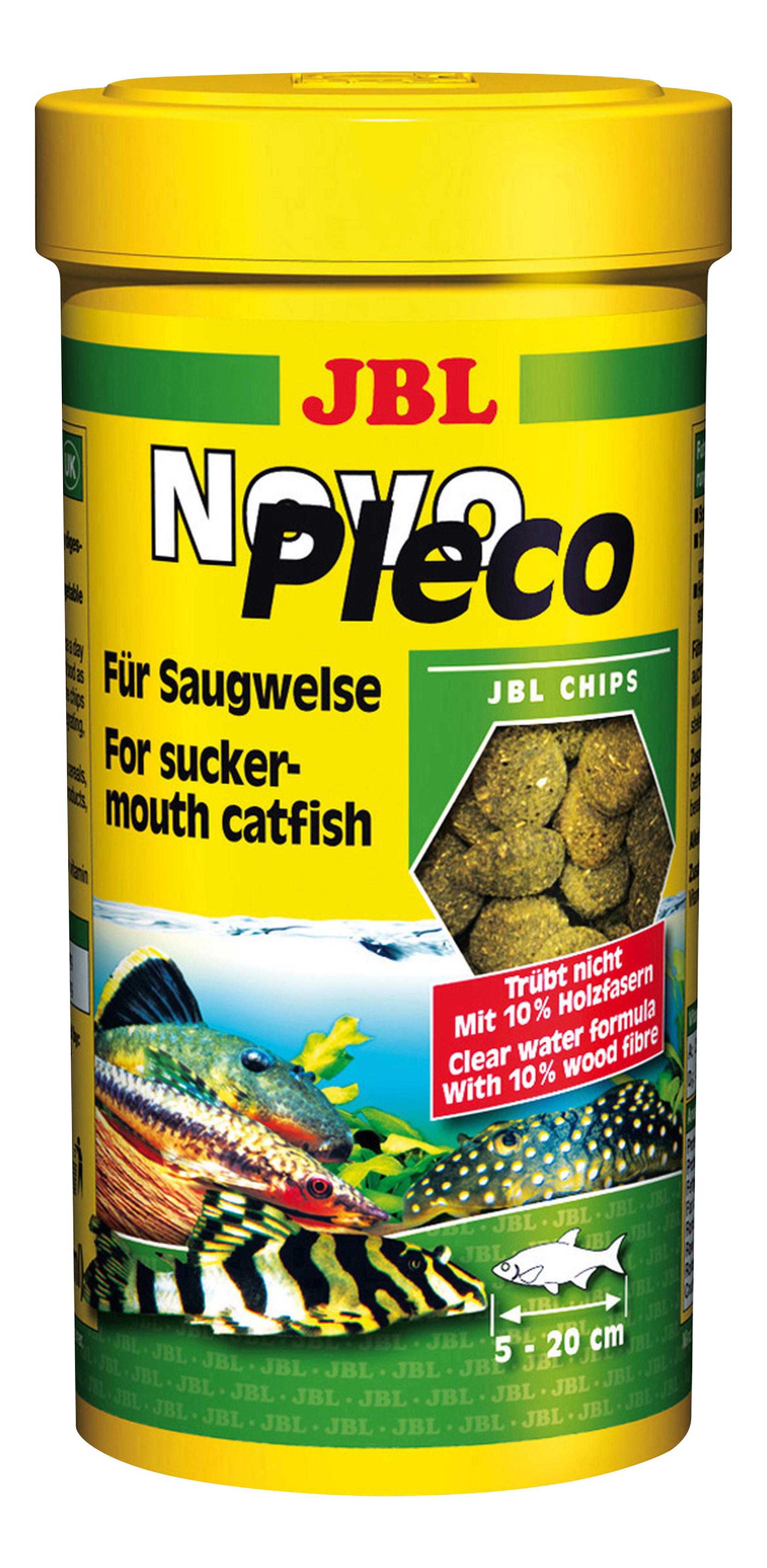 Корм для кольчужных сомов JBL NovoPleco, из водорослей