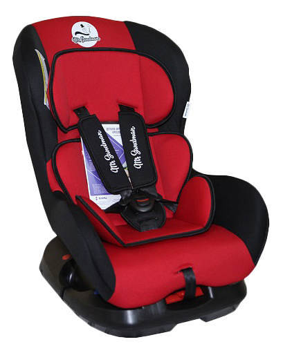 Купить Автокресло Mr Sandman Young Isofix группа 0/1, Красный, Черный, Детские автокресла