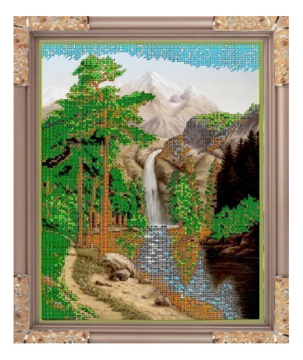 Вышивка для детей Светлица Водопад фото