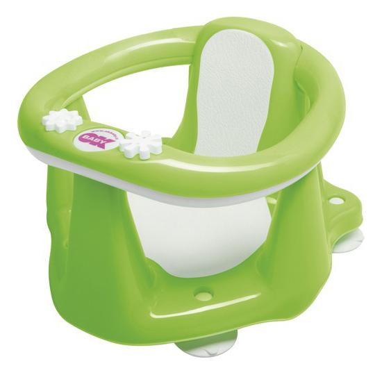 Купить Сиденье для купания малыша Ok Baby Flipper Evolution 799 зеленая, Стульчики для купания малыша