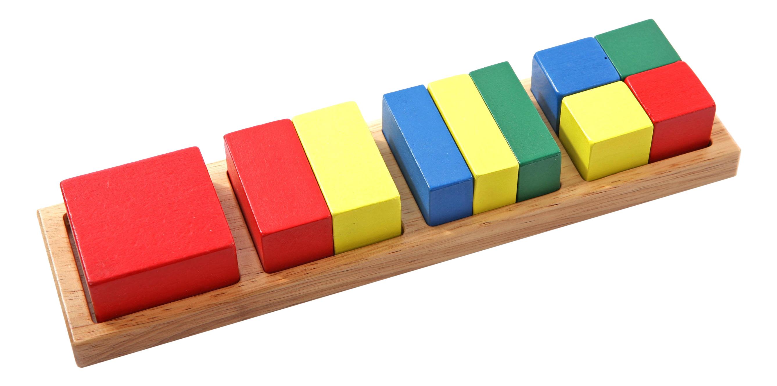 Деревянная игрушка для малышей из дерева Дроби малые 2 фото
