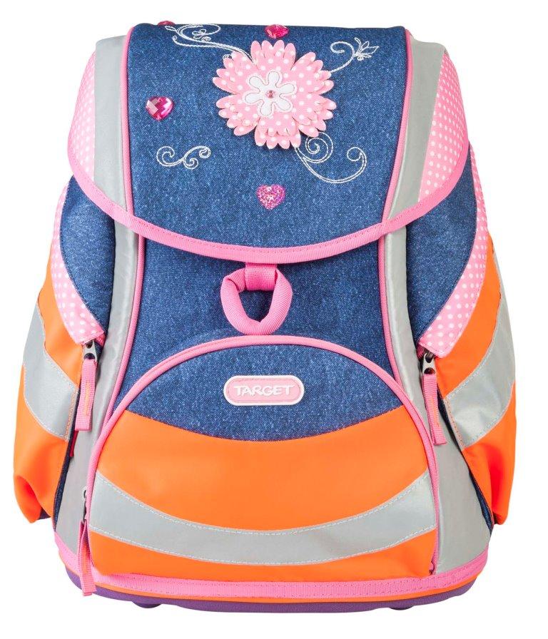 Ранец детский Target  Джинсовые цветы