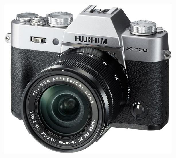 Фотоаппарат системный Fujifilm X T20 Silver