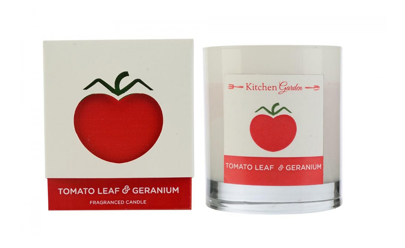 Ароматическая Wax Lyrical свеча Kitchen Garden Томатный лист и герань KG0303 фото
