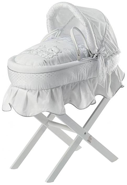 Люлька для переноски Baby Expert Happy Family, белый