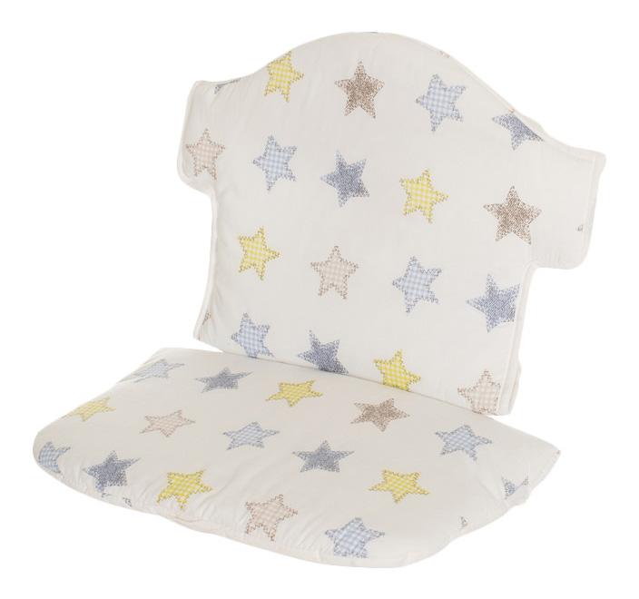 Купить Swing 132, Мягкая вставка для стульчика Geuther Swing белая со звездами (цвет 154),