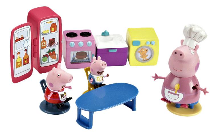 Купить Кухня Пеппы, Игровой набор Peppa Pig Кухня Пеппы, Росмэн, Игровые наборы