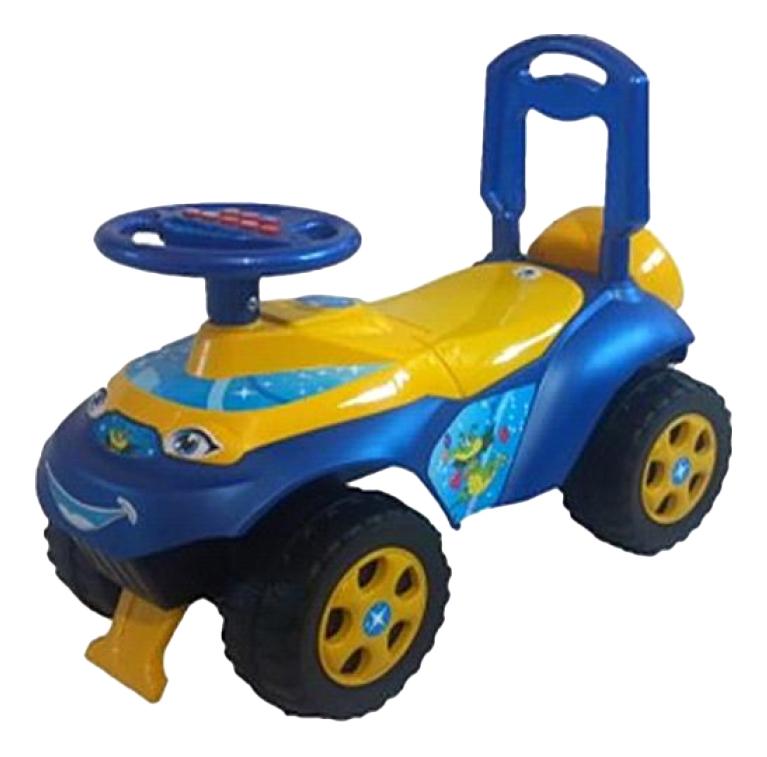Каталка детская Doloni Автошка сине желтый