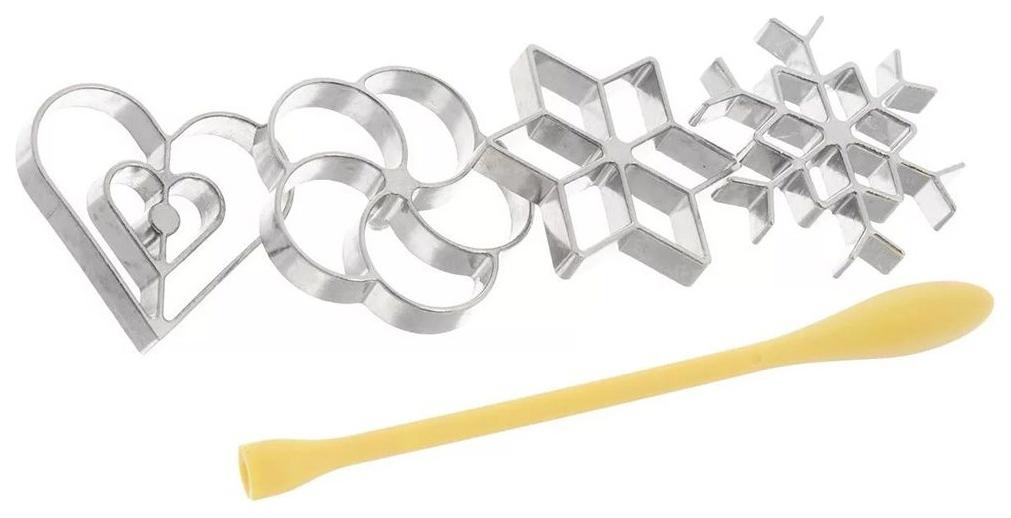 Набор для выпечки Tescoma Delicia 630048 Желтый; Серебристый
