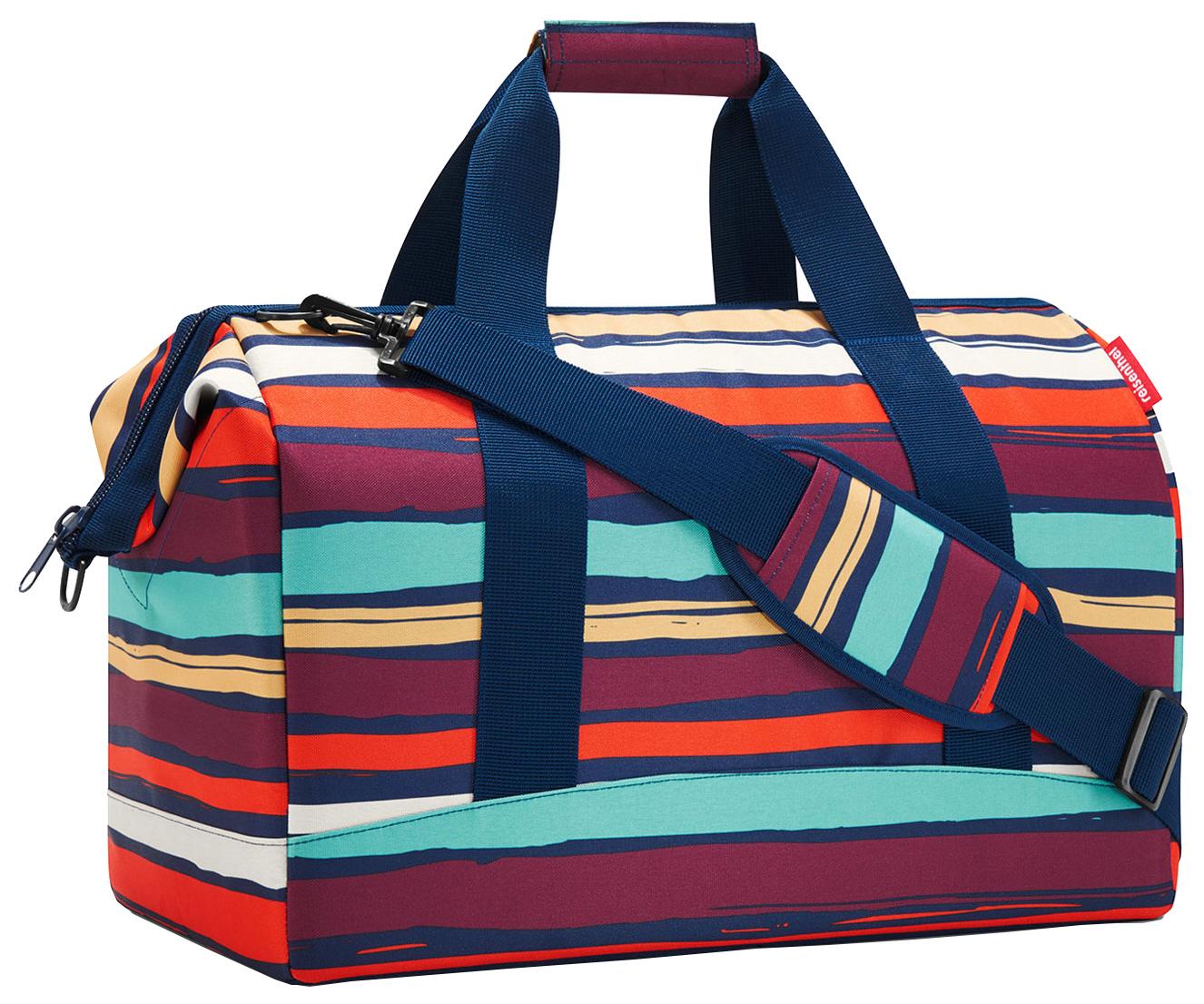 Дорожная сумка Reisenthel Allrounder Artist Stripes 48 x 29 x 39,5 фото