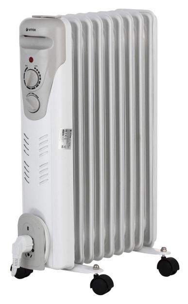Радиатор VITEK VT 1709 W Белый