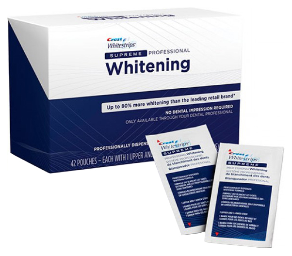 Пластина для отбеливания зубов Crest Whitestrips Supreme