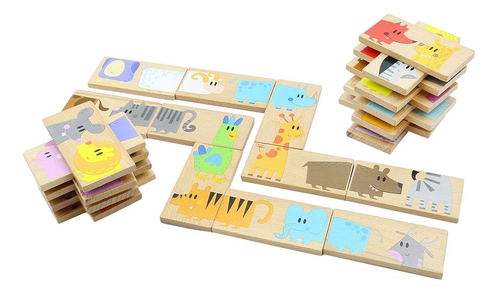 Купить Деревянная игрушка для малышей Мир Деревянных Игрушек Зоопарк, Развивающие игрушки