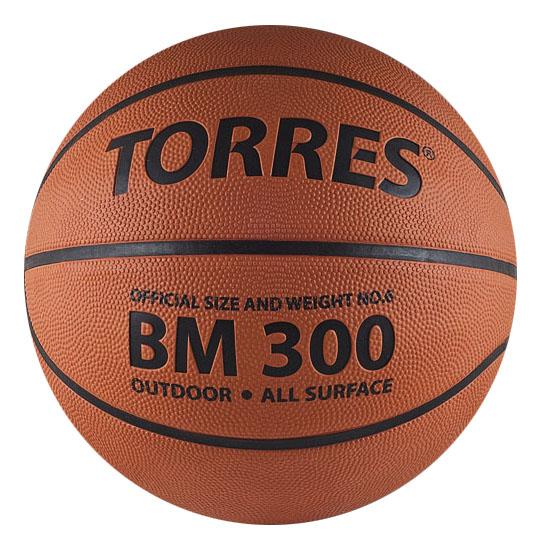 Баскетбольный мяч Torres BM300 B00015 №5 brown фото