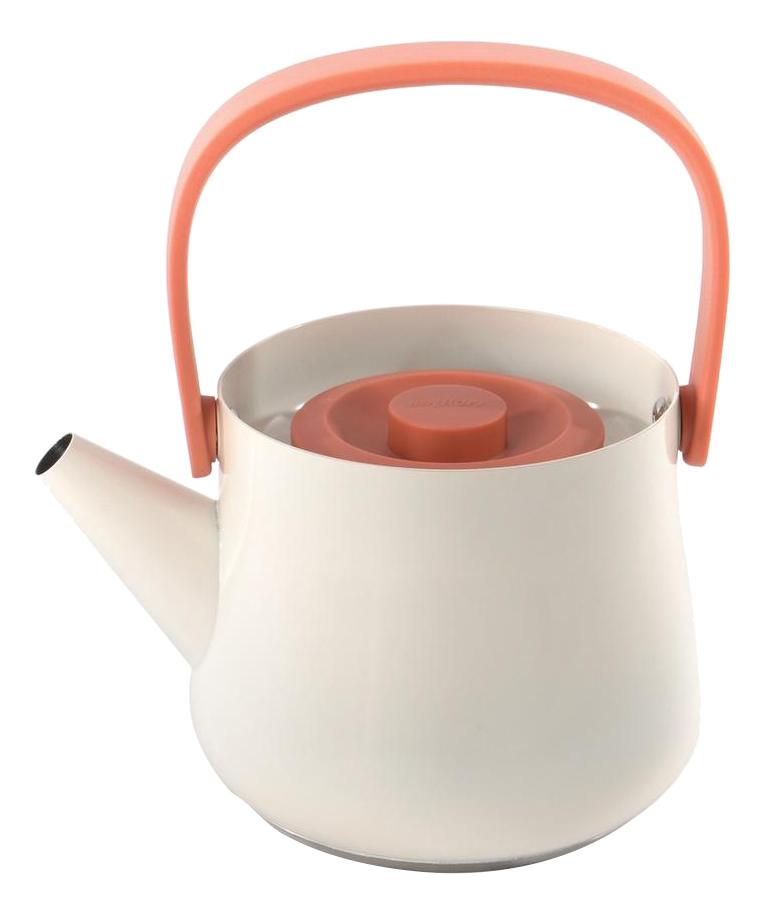 Заварочный чайник BergHOFF Ron белый 1 л