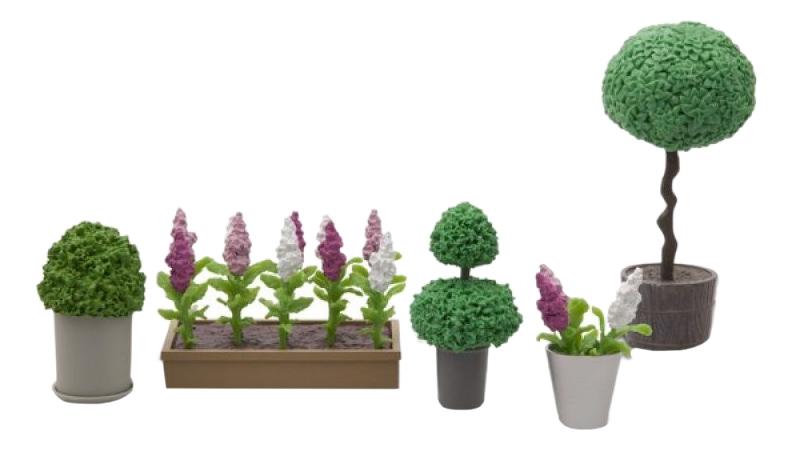 Набор Стокгольм Цветы в горшках LB_60905500 для домиков Lundby