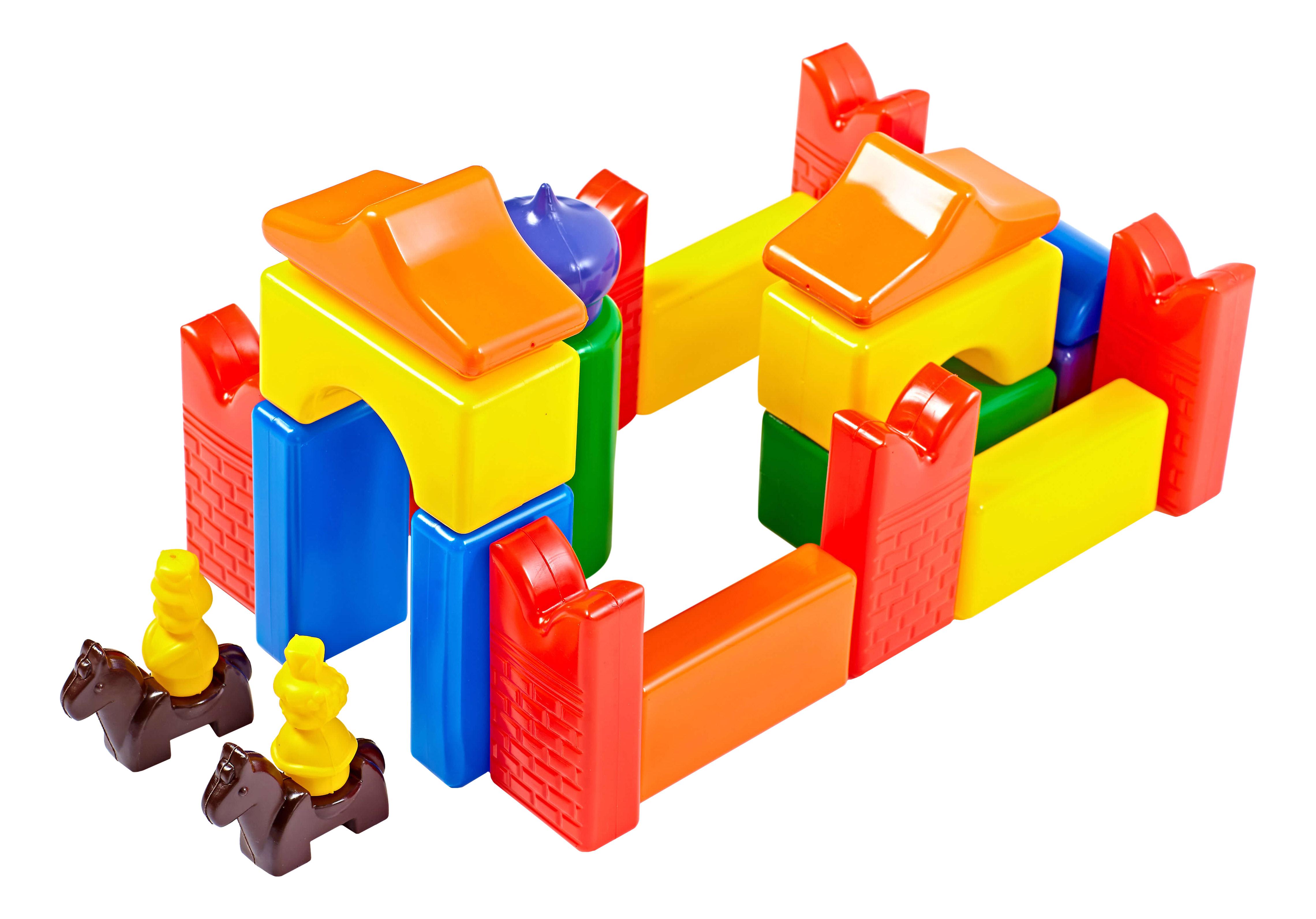 Конструктор для малышей Строим вместе счастливое детство Скит-2 5250