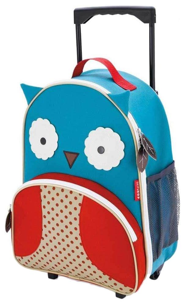 Купить Чемодан детский Skip Hop Zoo Luggage Сова SH 212304,