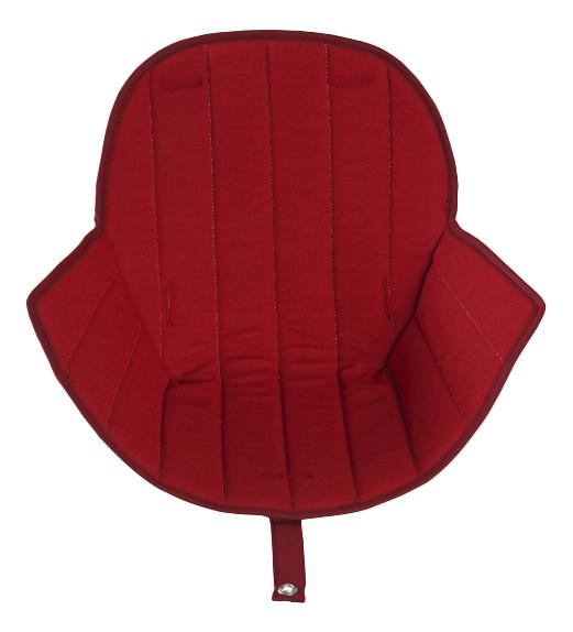 Купить Вкладыш для стульчика OVO Luxe Red, Вкладыш для стульчика micuna OVO Luxe Red, Чехол на стульчик для кормления