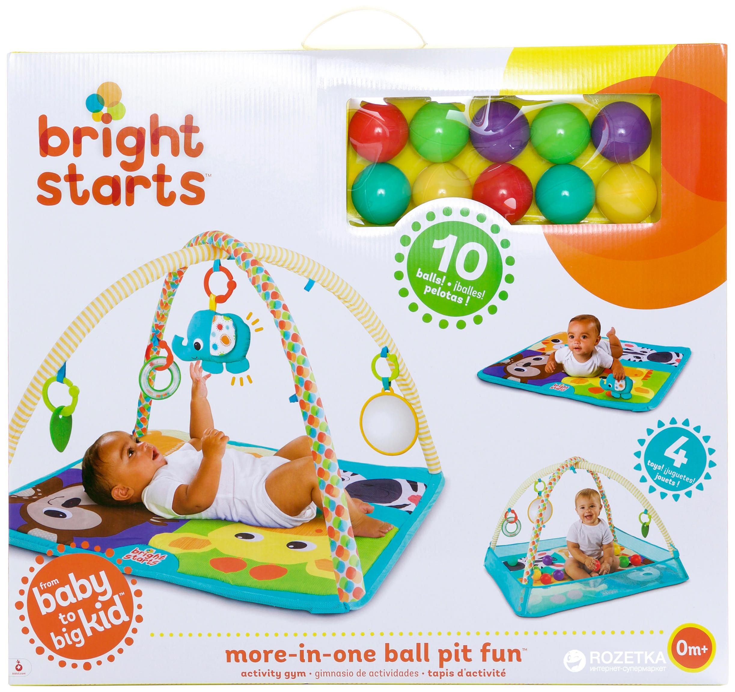 Развивающий коврик Bright Starts 11154