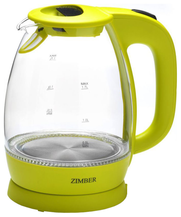 Чайник электрический Zimber ZM 11178 Lime