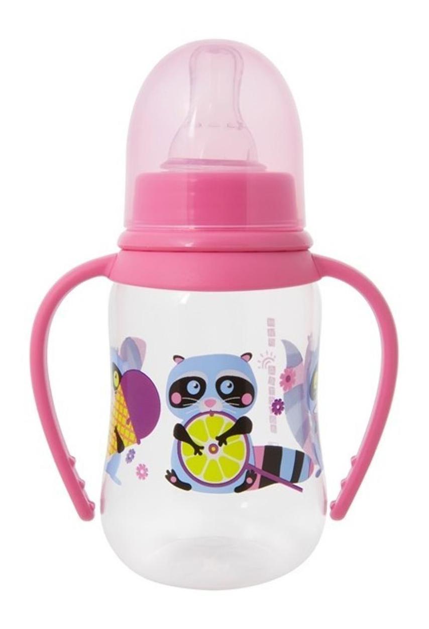 Купить Детская бутылочка Мир детства С силиконовой соской 125 мл, Бутылочки для кормления