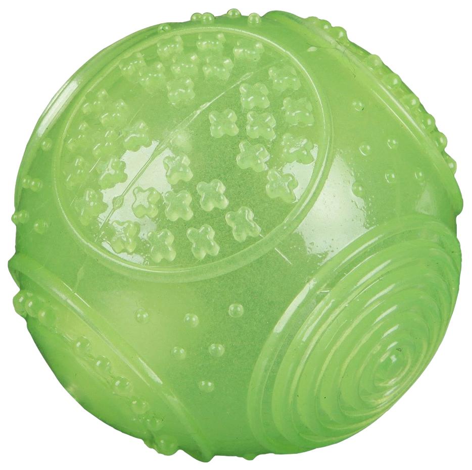Игрушка для собак Trixie Мяч фосфоресцирующий 7