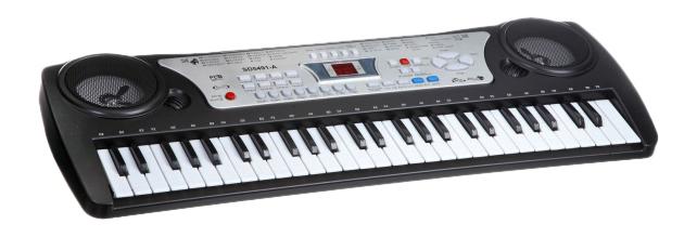 Музыкальный инструмент Синтезатор с микрофоном Gratwest Б40552 фото