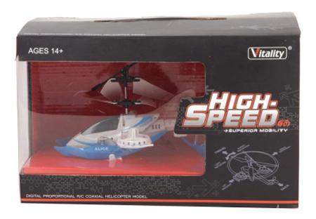 Вертолет р/у high speed с гироскопом на аккум свет М41351, Вертолет р/у High Speed с гироскопом на аккум. Gratwest М41351, Радиоуправляемые вертолеты  - купить со скидкой