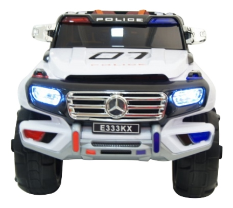 Электромобиль Mercedes белый RIVERTOYS