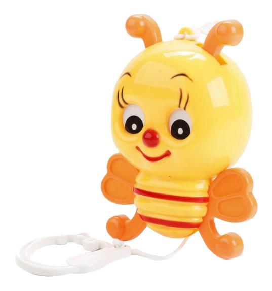 Игрушка музыкальная Пчелка с механическим заводом Умка B725072-R