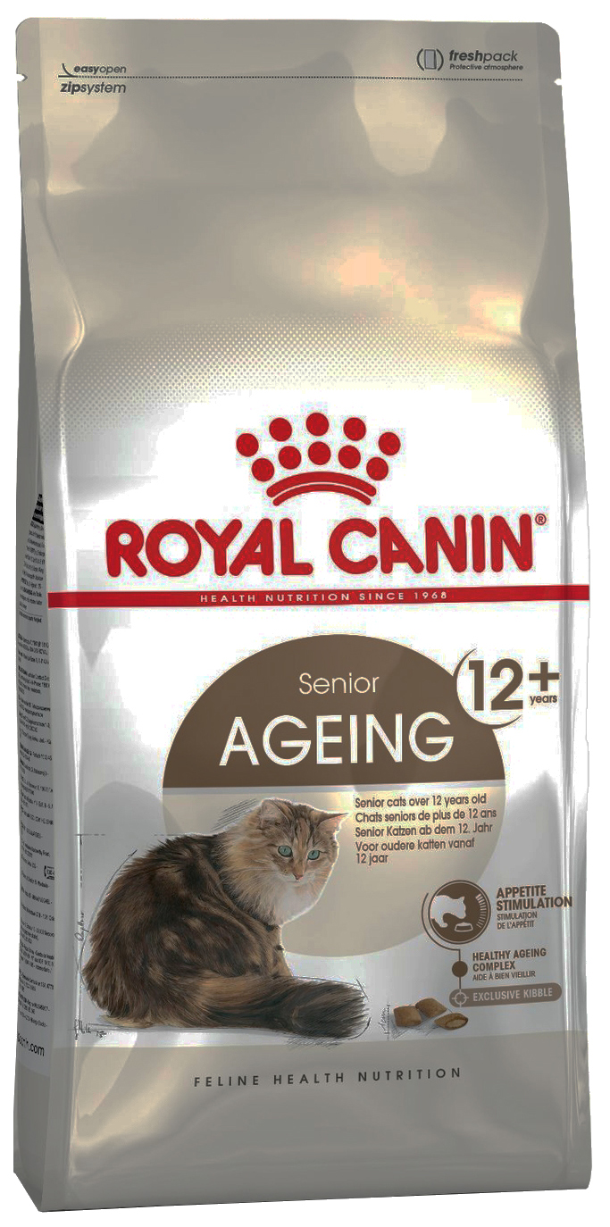 Сухой корм для кошек ROYAL CANIN Senior Ageing Sterilised 12+, для пожилых, 0,4кг фото